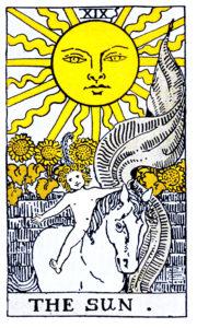 tarot SUN タロット 太陽 ライダー版 占い