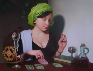 tarot reader divination タロット 占い師 カード